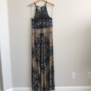EUC London Times Maxi Dress SZ 16
